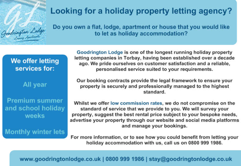 Self Catering Holidays in Paignton